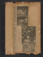 [Walt Kuhn scrapbook of press clippings documenting the Armory Show, vol. 2 pages 35]