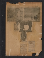 [Walt Kuhn scrapbook of press clippings documenting the Armory Show, vol. 2 pages 39]