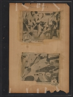[Walt Kuhn scrapbook of press clippings documenting the Armory Show, vol. 2 pages 51]