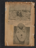 [Walt Kuhn scrapbook of press clippings documenting the Armory Show, vol. 2 pages 71]