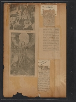 [Walt Kuhn scrapbook of press clippings documenting the Armory Show, vol. 2 pages 84]