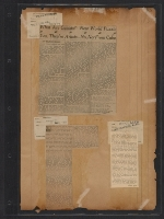 [Walt Kuhn scrapbook of press clippings documenting the Armory Show, vol. 2 pages 85]
