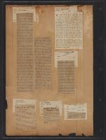 [Walt Kuhn scrapbook of press clippings documenting the Armory Show, vol. 2 pages 104]
