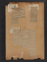 [Walt Kuhn scrapbook of press clippings documenting the Armory Show, vol. 2 pages 107]