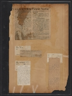 [Walt Kuhn scrapbook of press clippings documenting the Armory Show, vol. 2 pages 111]