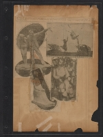 [Walt Kuhn scrapbook of press clippings documenting the Armory Show, vol. 2 pages 123]