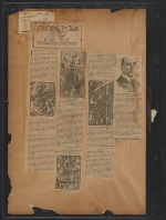 [Walt Kuhn scrapbook of press clippings documenting the Armory Show, vol. 2 pages 126]