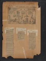 [Walt Kuhn scrapbook of press clippings documenting the Armory Show, vol. 2 pages 136]