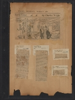 [Walt Kuhn scrapbook of press clippings documenting the Armory Show, vol. 2 pages 137]