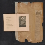 [Walt Kuhn scrapbook of press clippings documenting the Armory Show, vol. 2 pages 182]
