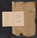 [Walt Kuhn scrapbook of press clippings documenting the Armory Show, vol. 2 pages 184]