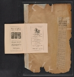 [Walt Kuhn scrapbook of press clippings documenting the Armory Show, vol. 2 pages 185]