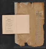 [Walt Kuhn scrapbook of press clippings documenting the Armory Show, vol. 2 pages 186]