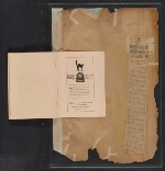 [Walt Kuhn scrapbook of press clippings documenting the Armory Show, vol. 2 pages 187]