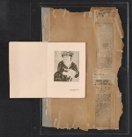 [Walt Kuhn scrapbook of press clippings documenting the Armory Show, vol. 2 pages 205]