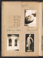 [Walt Kuhn scrapbook of artworks from the Armory Show page 3]