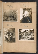 [Walt Kuhn scrapbook of artworks from the Armory Show page 6]