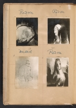 [Walt Kuhn scrapbook of artworks from the Armory Show page 7]