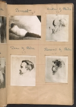 [Walt Kuhn scrapbook of artworks from the Armory Show page 8]