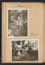 [Walt Kuhn scrapbook of artworks from the Armory Show page 9]