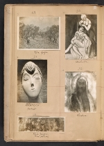 [Walt Kuhn scrapbook of artworks from the Armory Show page 11]