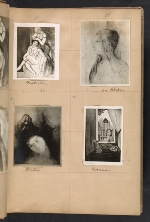 [Walt Kuhn scrapbook of artworks from the Armory Show page 12]