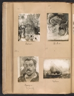 [Walt Kuhn scrapbook of artworks from the Armory Show page 31]
