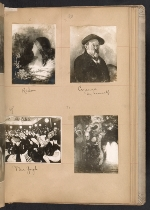 [Walt Kuhn scrapbook of artworks from the Armory Show page 34]