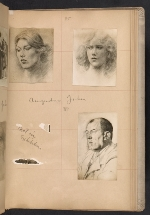 [Walt Kuhn scrapbook of artworks from the Armory Show page 38]