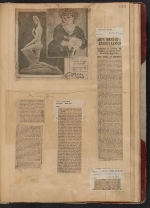 [Walt Kuhn scrapbook of press clippings documenting the Armory Show, vol. 1 page 117]