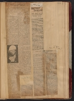 [Walt Kuhn scrapbook of press clippings documenting the Armory Show, vol. 1 page 129]