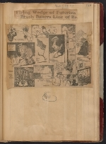 [Walt Kuhn scrapbook of press clippings documenting the Armory Show, vol. 1 page 133]