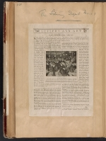 [Walt Kuhn scrapbook of press clippings documenting the Armory Show, vol. 1 page 166]