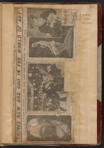 [Walt Kuhn scrapbook of press clippings documenting the Armory Show, vol. 1 page 169]