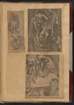 [Walt Kuhn scrapbook of press clippings documenting the Armory Show, vol. 1 page 175]