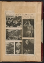 [Walt Kuhn scrapbook of press clippings documenting the Armory Show, vol. 1 page 177]