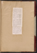 [Walt Kuhn scrapbook of press clippings documenting the Armory Show, vol. 1 page 185]