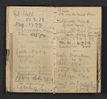 [Walt Kuhn's address book pages 11]
