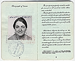 Marcelle Labaudt's passport