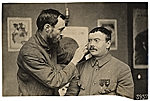 [WWI soldier facial reconstruction documentation photograph ]