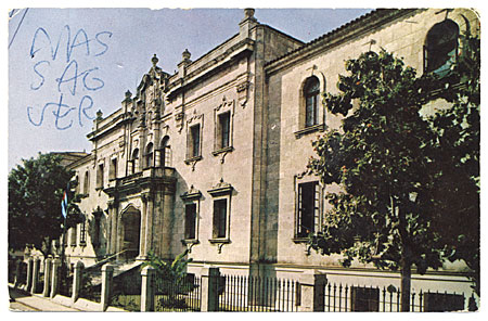 Conrado Massaguer, Havana, Cuba postcard to Abril Lamarque, New York, N.Y.