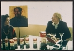 Andy Warhol with unidentified woman