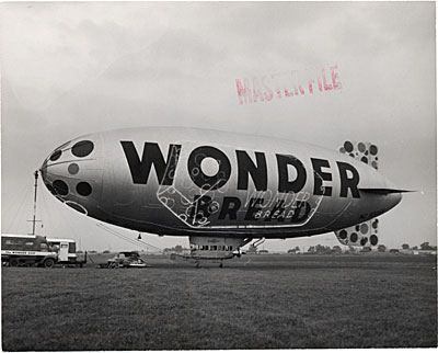 The Wonder Bread Flying Spectacular on the ground