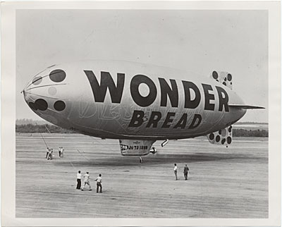 Wonder Bread blimp