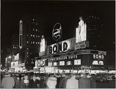 Bond Clothing Spectacular, New York City