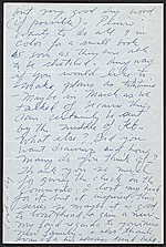 [Cy Twombly letter to Leo Castelli 1]