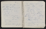 [Notebook of Leo Castelli pages 20]