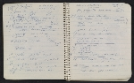 [Notebook of Leo Castelli pages 22]