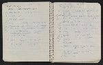 [Notebook of Leo Castelli pages 25]