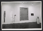 Installation view of the Bruce Nauman exhibition at the Leo Castelli Gallery